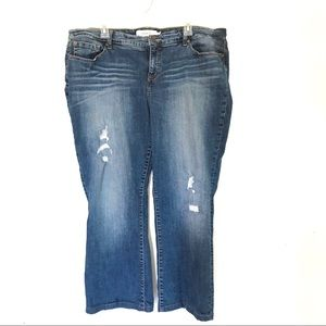 Torrid Distressed Bootcut Jeans Size 20